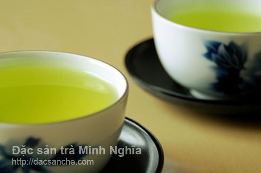 Hướng dẫn cách pha trà nước xanh cực đẹp
