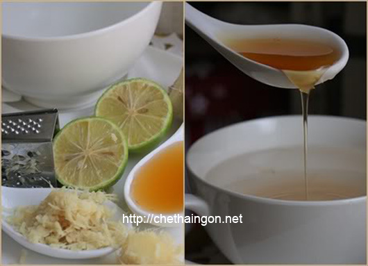 Giảm cân hiệu quả với trà gừng chanh mật ong