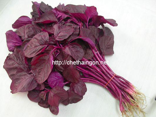 Bài thuốc thanh nhiệt từ rau dền