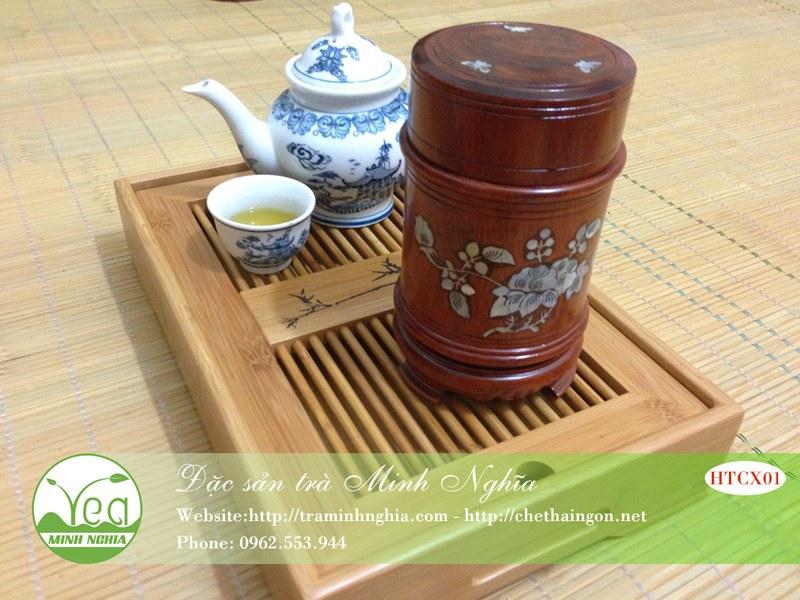 Hộp đựng trà HTCX01-01