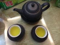 Nước pha của bột trà xanh túi lọc